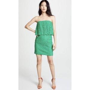 NWT BB Dakota RSVP Cici Jade Green Layered Dress